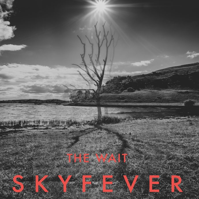 "Cover art for SKYFEVERs' single ""The Wait"""
